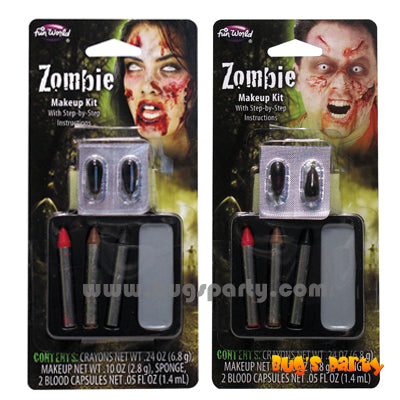 Make Up Zombie Kit