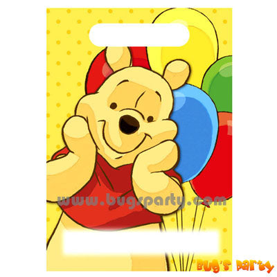 Pooh Treat Sacks
