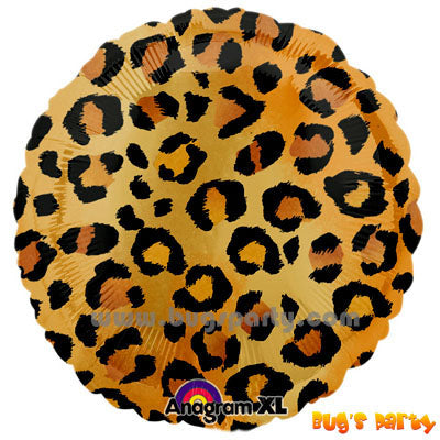 Animal Cheetah Balloons
