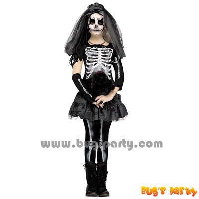 Skeleton Bride Halloween costume