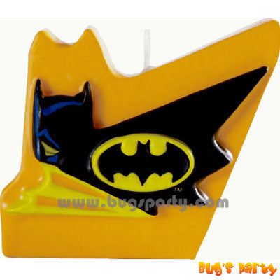 Batman Cake Candle
