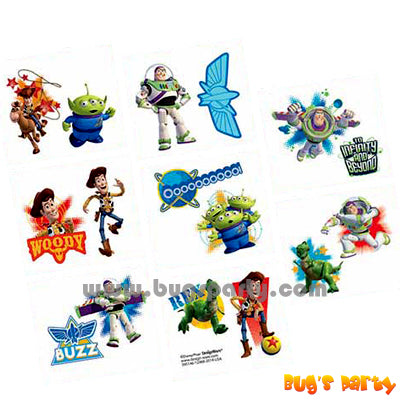Toy Story Temp Tattoos