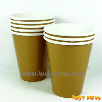 Gold Color paper Cups