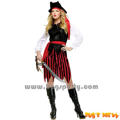 Costume Caribbeam Pirate Fe