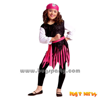 Costume Caribbean Girl Pirate