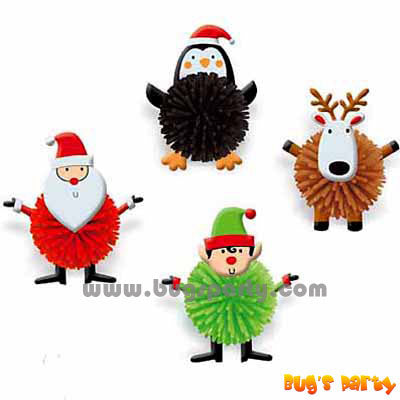 Christmas Wooly Characters