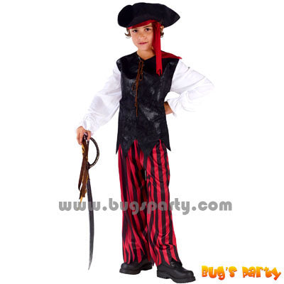 Caribbean Pirate boys costume