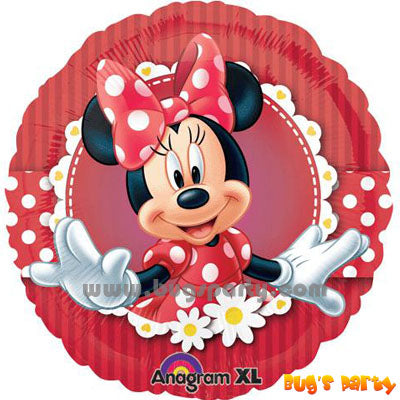 Minnie Mouse Bow Balloons