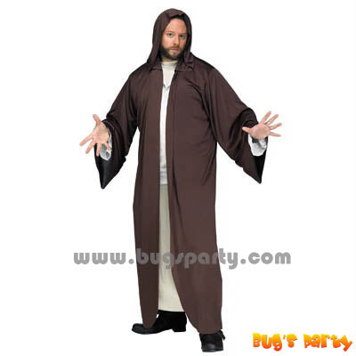 Costume Brown Hooded Robe
