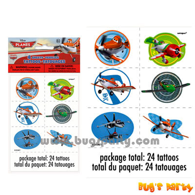 Disney Planes 24 Tattoos