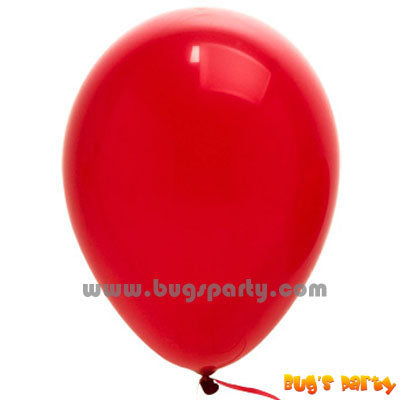 Balloon Lx Solid Red