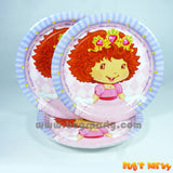 Strawberry Princess Plates