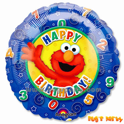Balloon Elmo Numbers