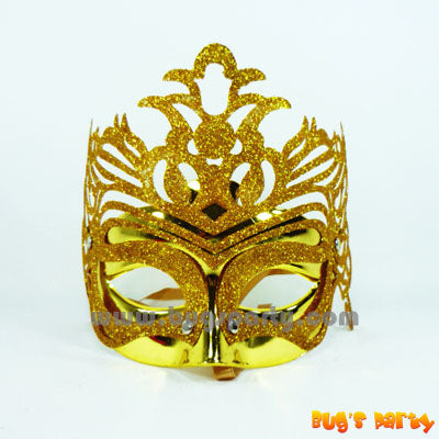 Mask Fancy Glit Crown