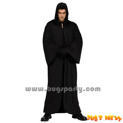 Costume Black Hooded Robe
