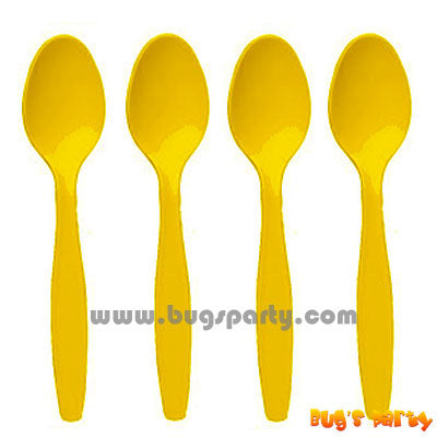 Yellow Sunshine PL Spoons