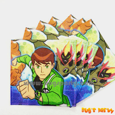 Ben 10 Napkins A force