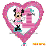 Minnie 1st Heart Balloon