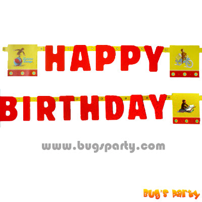 Curious George Bday Banner