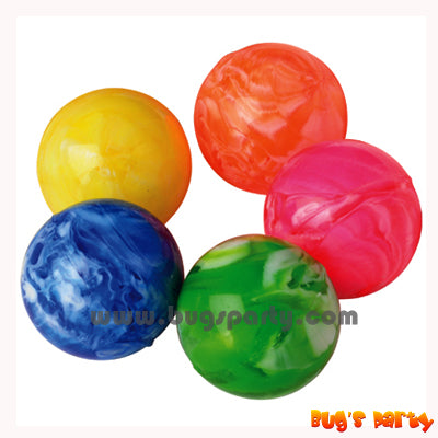 Favors Marble Bounce Balls