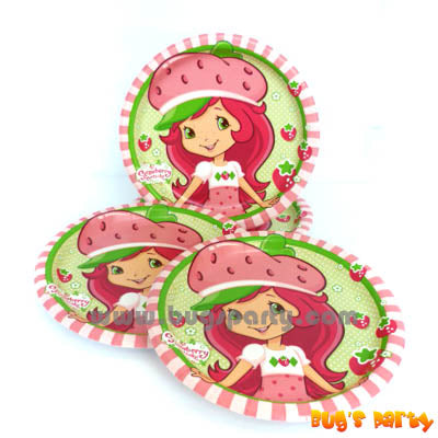 Strawberry Shortcake 7in Plates