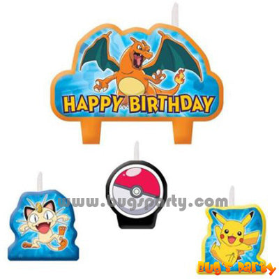 Pokemon Candles Set