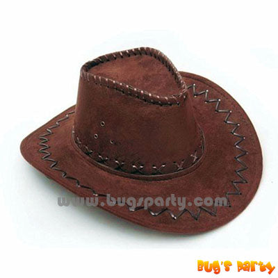 Brown color Cowboy Wild West Hat