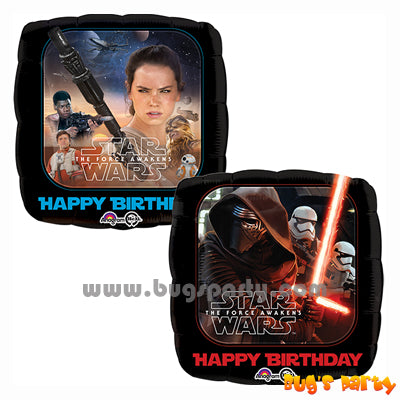 Star Wars 7 Bday Balloons