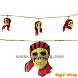 Pirate Skull Garland