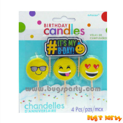 Smiley Emoji Candles