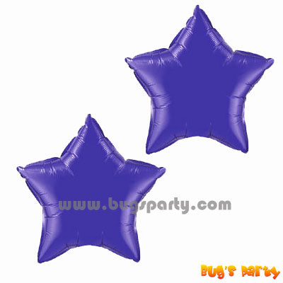 Balloon Star Purple