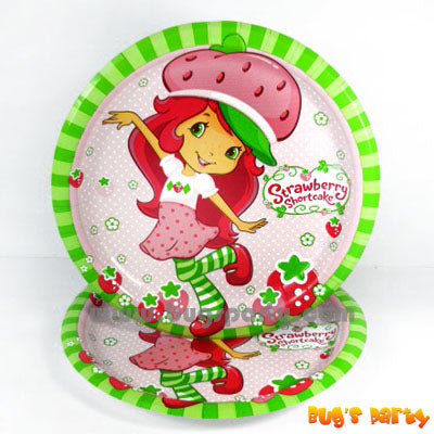 Strawberry Shortcake Plates
