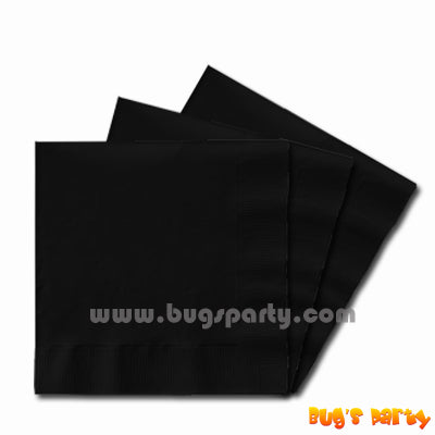 Black color paper Napkins
