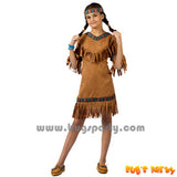 Native American Red Indian Costume for girls