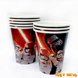 Star Wars 7 Paper Cups