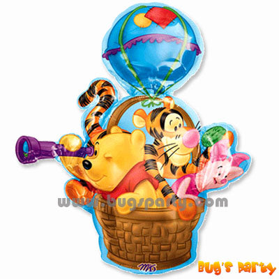 Pooh Hot Air Balloon