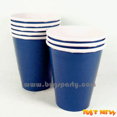 Blue color Paper Cups