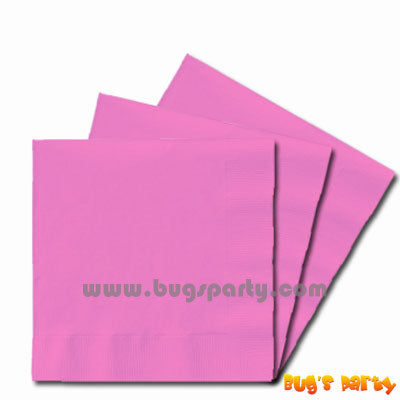 Pink color paper Napkins