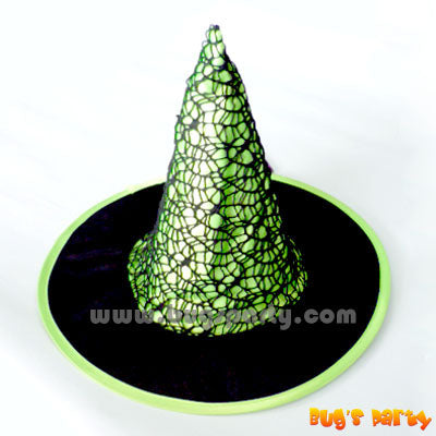 Witch Gothic Hat Grn