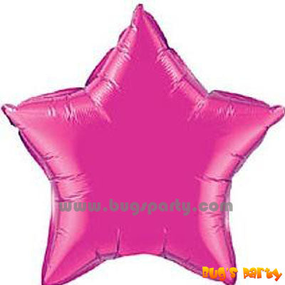 Pink Star Shaped Balloon
