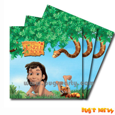 Jungle Book Napkins