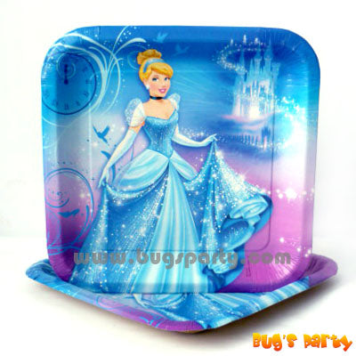 Disney Cinderella 9in Plates