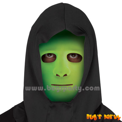 Blank Glow in dark Face mask with Shroud