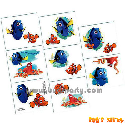 Finding Dory Temp Tattoos