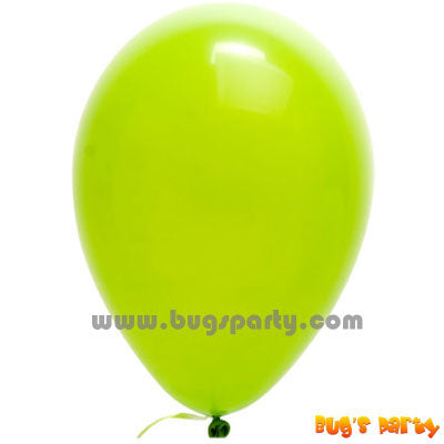 Balloon Lx Solid Lime Green