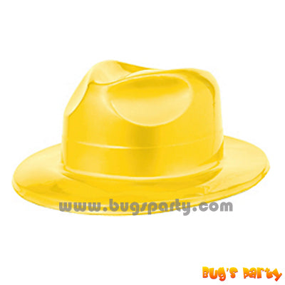 Hat Fedora Yellow