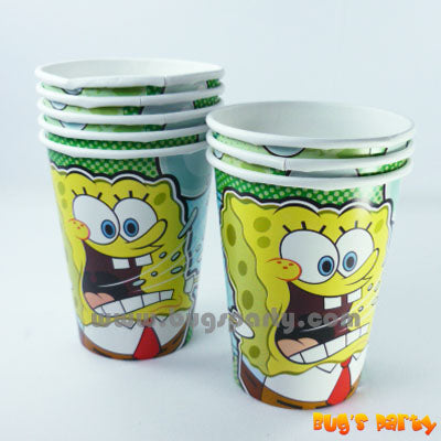 Spongebob Party Cups