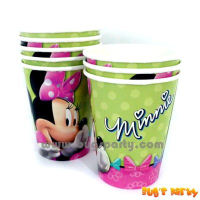 Minnie Bow Cups
