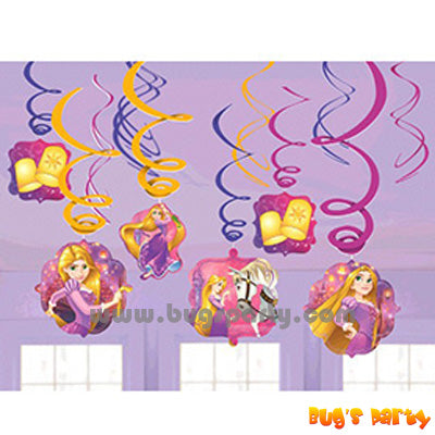 Disney Rapunzel Swirls Deco