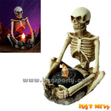 Creepy Tealight Skeleton